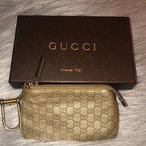 Gucci gold coin purse